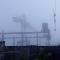 Кран и Туман :: Ярослав Sm