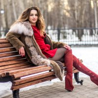 Зимной парк :: Сергей Головацкий