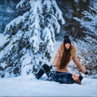 Снежная Любовь :: Алексей Латыш