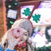 Пончиковый портрет :: Юлия Астратенко