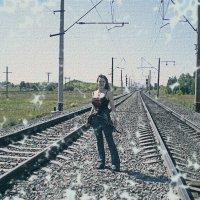 на железной дороге :: Юлия Денискина
