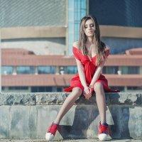 Красная Мисс Зима :: KanSky - Карен Чахалян