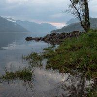 На озере рассвет. :: Марина Фомина.