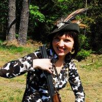 Из серии - Женщина с ружьем :: Kostas Slivskis