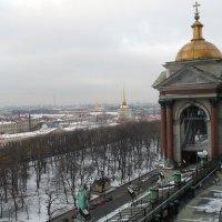 Исааковский собор.Вид сверху. :: Таэлюр