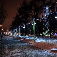 Новогодние улицы :: Владимир Гришин