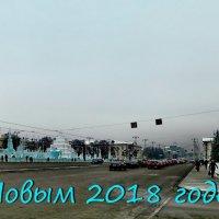 Ледяной городок на главной площади Екатеринбурга. :: Пётр Сесекин