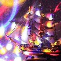 В  Новогоднюю  Гавань  плывут  Корабли! :: Eva Tisse