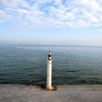 1 января, на море штиль, т-ра +6С :: Александр Скамо
