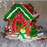 Пряничный  новогодний домик.... :: Любовь К.