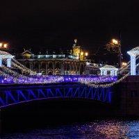 Новогодний Дворцовый мост :: Olya Lanskaya