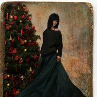 Новогодняя открытка :: Марина Макарова