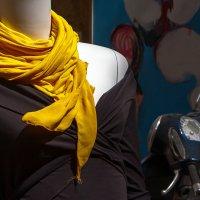 Желтый шарфик :: Юрий Вайсенблюм