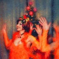 Новогодние танцы :: Цветков Виктор Васильевич