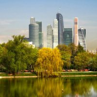 Монастырский пруд. :: Oleg S