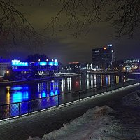 Ночной город. :: Айвар Вилюмсон