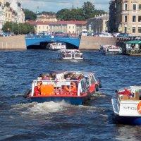Санкт-Петербург, Мойка, Синий мост :: Фотогруппа Весна.
