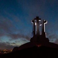 Вильнюс. Три креста. Ночь :: Pavel Shardyko