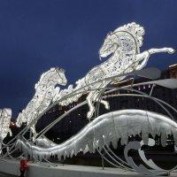 Три белых коня ... :: Лариса Корженевская
