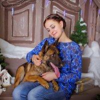 Новогодние Quella и Анютка :: Кристина Беляева