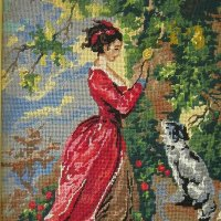 Дама с собачкой :: Дмитрий Никитин