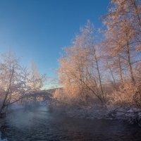 Розовое утро :: vladimir Bormotov