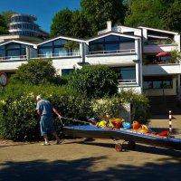Старик и лодка :: Nina Yudicheva