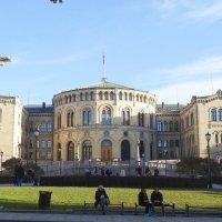Здание парламента Осло :: Natalia Harries