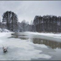 Проталины на реке :: Михаил Онипенко