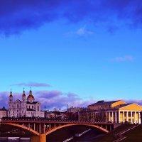 Какое небо голубое! :: Vladimir Semenchukov