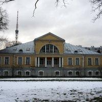 Бывший дом директора Ботанического сада, 1829 г.; арх. Иосиф Шарлемань :: Елена Павлова (Смолова)