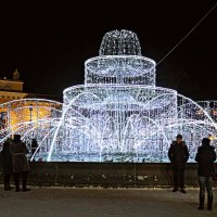 Новогодний фонтан. :: Марина Харченкова