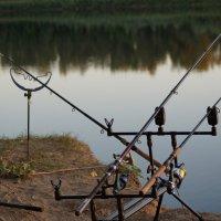 На рыбалке :: Евгений Зубков
