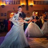 Дарья на балу с кадетами :: Светлана Фесенко