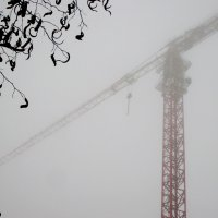Кран и туман :: Нина Бутко