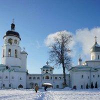 Звонница Крыпецкого монастыря :: Елена Павлова (Смолова)