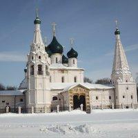 Церковь Ильи Пророка в Ярославле.1647г. :: нина