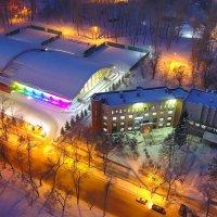 Городской теннисный центр Новокузнецка :: Юрий Лобачев