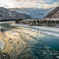 Золото солнца разлилось по воде :: Андрей Поляков