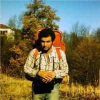 Я, 1974(?)г. Плёнка, слайд Orwohrom UT-18. Олимпус ОМ-1. :: Артур Овсепян
