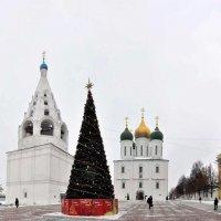 Соборная площадь в городе Коломна :: Кирилл Иосипенко