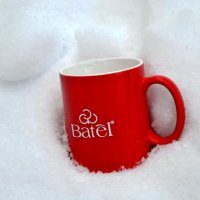 Кружка на снегу. :: Михаил Столяров