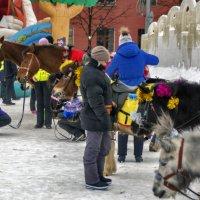 Новогодние лошадки :: gribushko грибушко Николай