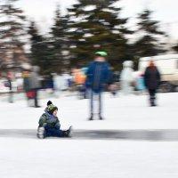 Детские зимние забавы :: Сергей Черепанов