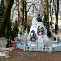 Интерьер зимнего городского сада :: Милешкин Владимир Алексеевич