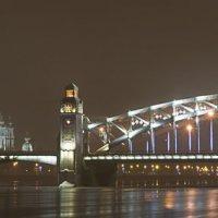 Большеохтинский мост в СПб :: Алексей Ершов