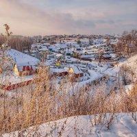 Зимний вечер с золотым отливом :: Владимир Макаров