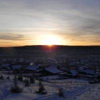 Зимний закат :: Сергей Макеров