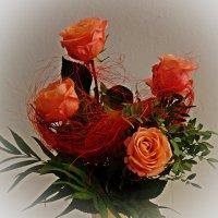 Букет роз...на старый новый год... :: Galina Dzubina