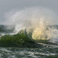 штормовая волна на Атлантическом берегу :: Георгий